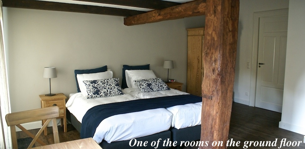 Grey room B&B Hofstede de Rieke Smit