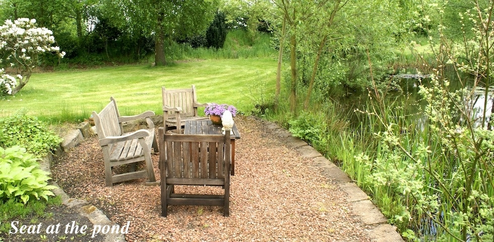 Seat at the Pond B&B Hofstede de Rieke Smit